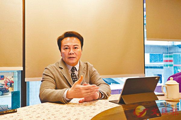 ■「一帶一路」科技金融協會創會主席馬鴻銘。