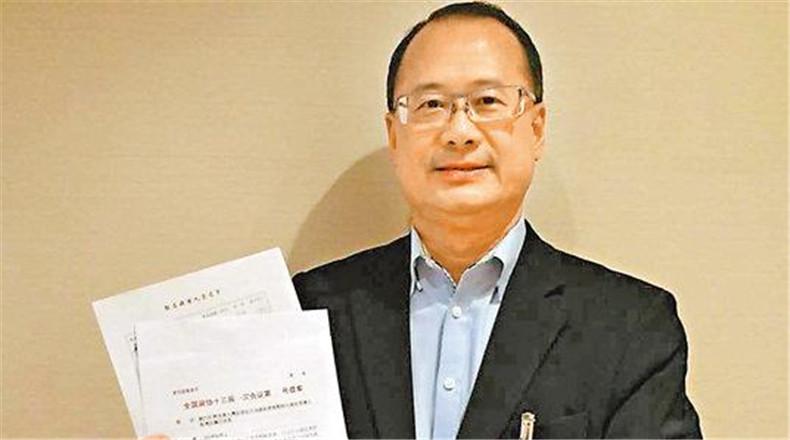 蔡冠深:「中國香港」身份可代表13億人說話
