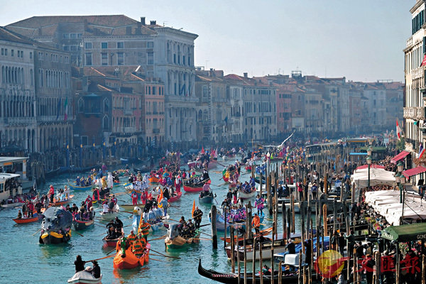 威尼斯向遊客徵入城稅 意國首例