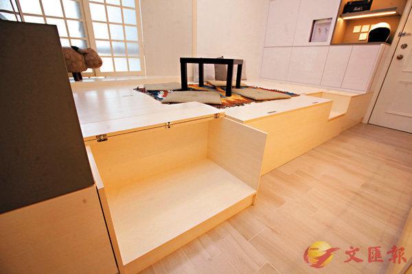 ■收納愛貓用品位置能以摺疊式開啟或關閉。