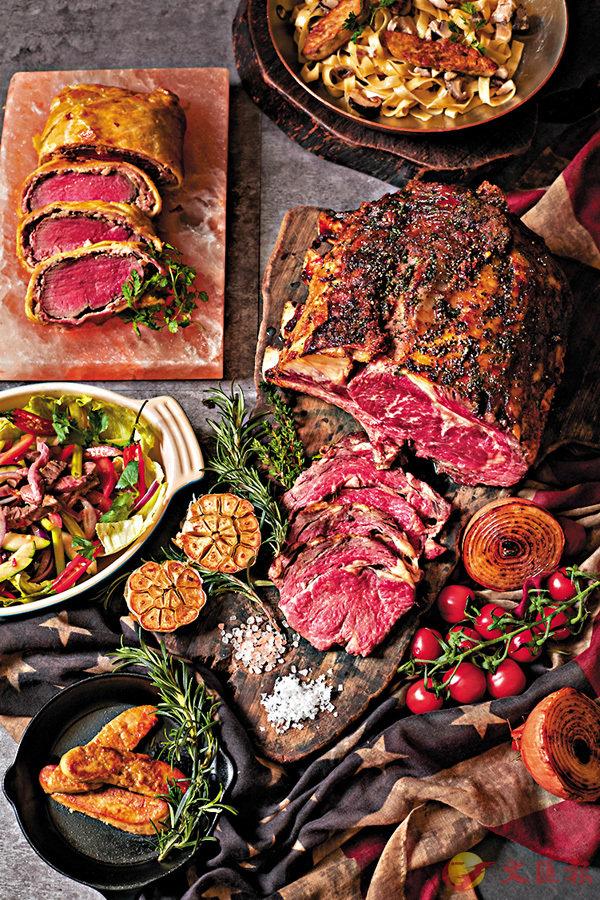 ■頂級澳洲牛肉配上鮮味鴨肝自助晚餐