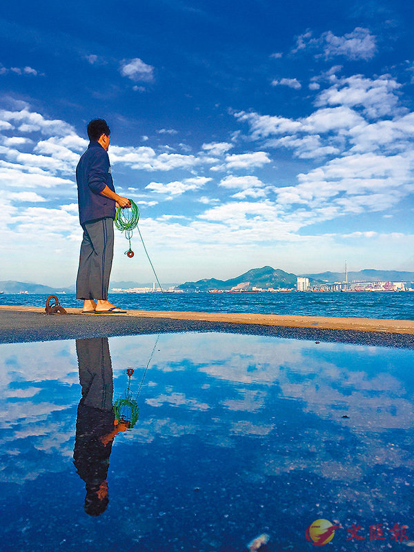 ■想今晚有魚吃,就別學姜太公釣魚。 資料圖片