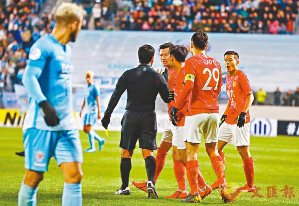 亞冠次輪 中超四強和日本負韓國 恒大申訴遭主裁錯漏判