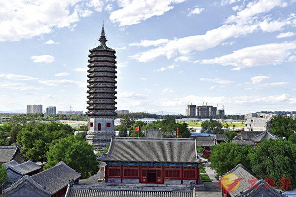 ■燃燈塔景區,位於北京市通州區京杭大運河北端,距今1400多年
