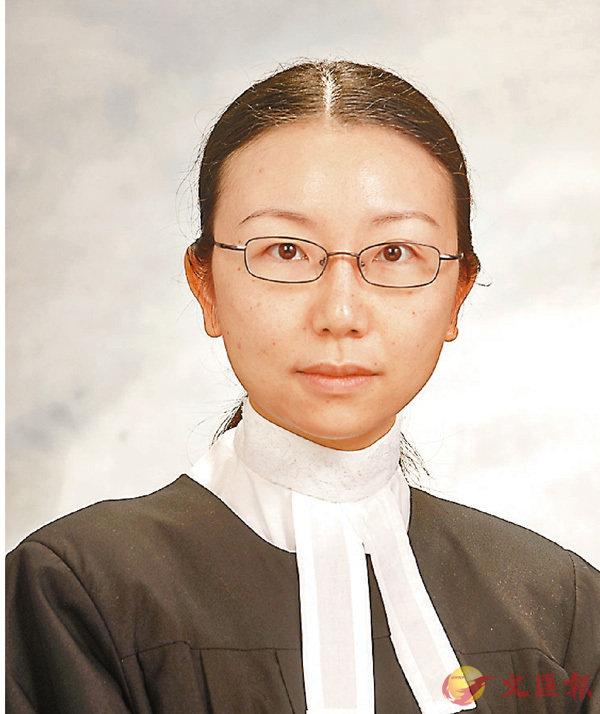 ■署理主任裁判官嚴舜儀。 資料圖片