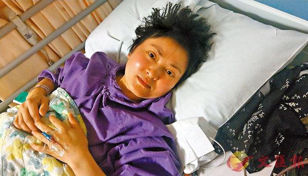 ■瑩姐跌落路軌,昨日仍在留院。