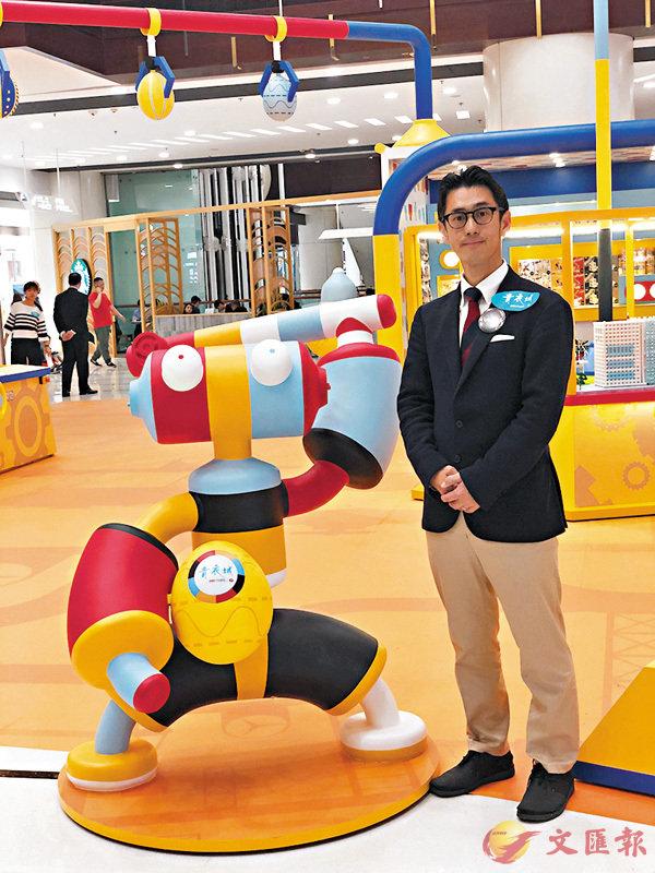 ■鈴木隆也將微型管狀積木Tublock帶到香港。