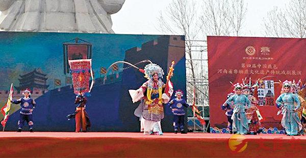 ■多個國家級非物質文化遺產代表性項目亮相老子廟會。