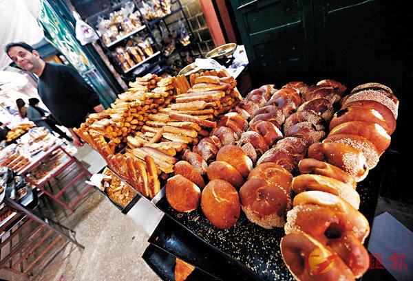 ■麵包也分很多種類。 資料圖片