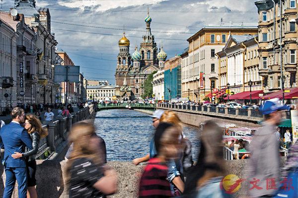 ■聖彼德堡的基督復活大教堂為紀念亞歷山大二世遇刺而建。 資料圖片