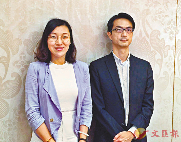 ■呂楊靜怡(左)表示,公司將會持續開拓新能源汽車客��。 莊程敏 攝