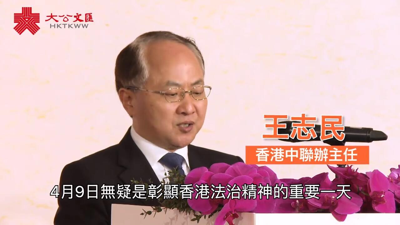 國家安全教育日王志民非法佔中之痛是香港法治之痛