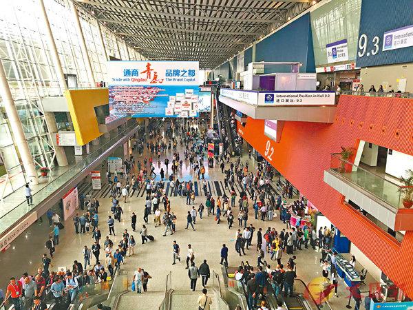 ■第125屆廣交會今日在廣州開幕。香港文匯報記者帥誠  攝