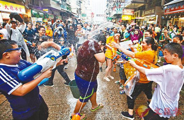 有參加者成「圍攻」對象。香港文匯報記者劉國權  攝