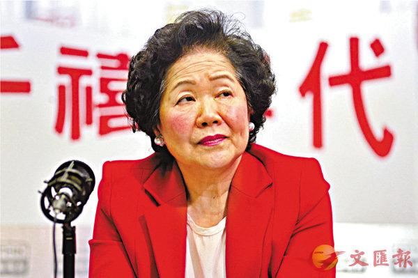■陳方安生越洋告狀,唱衰抹黑香港,行為令人反感。調查顯示,逾半市民不支持其訪美之行。 資料圖片
