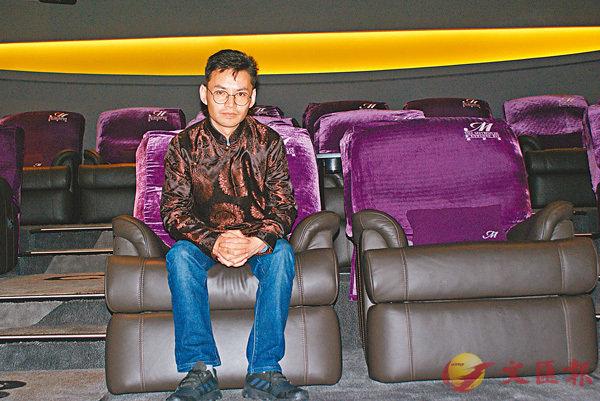 ■藏族導演拉華加以電影透視孩子的內心世界。 朱慧恩 攝