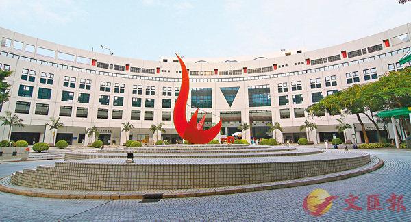 ■科大超越港大成為亞洲第三。圖為科大校園。 資料圖片