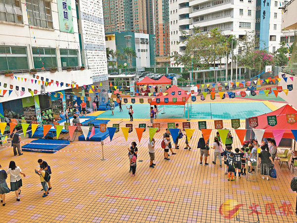 ■匯知中學近日舉辦文化祭暨開放日。 學校供圖