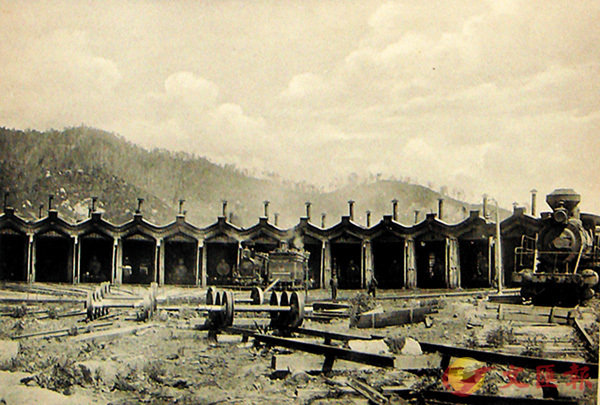 ■ 機車庫舊貌。  受訪者供圖