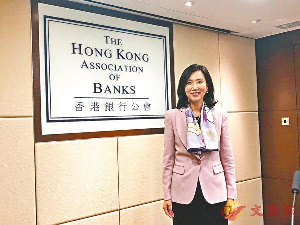 ■禤惠儀提醒,市民投資或置業前需多加衡量自身承擔能力。 香港文匯報記者馬翠媚    攝