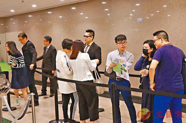 ■新盤銷售放慢,過去6月,本港錄304宗一手成交。香港文匯報記者彭子文  攝