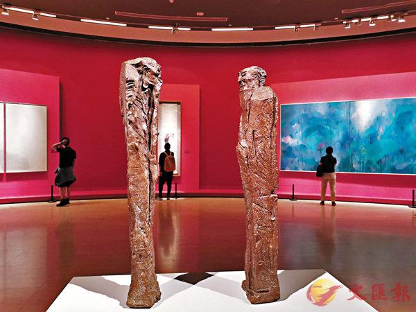 ■中國美術館展出的知名青銅雕塑創作《問道》