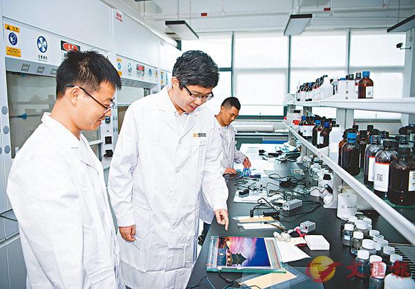 ■專注柔性透明導電材料創新及產業化應用的澳門創業者,將公司落址珠海。 資料圖片