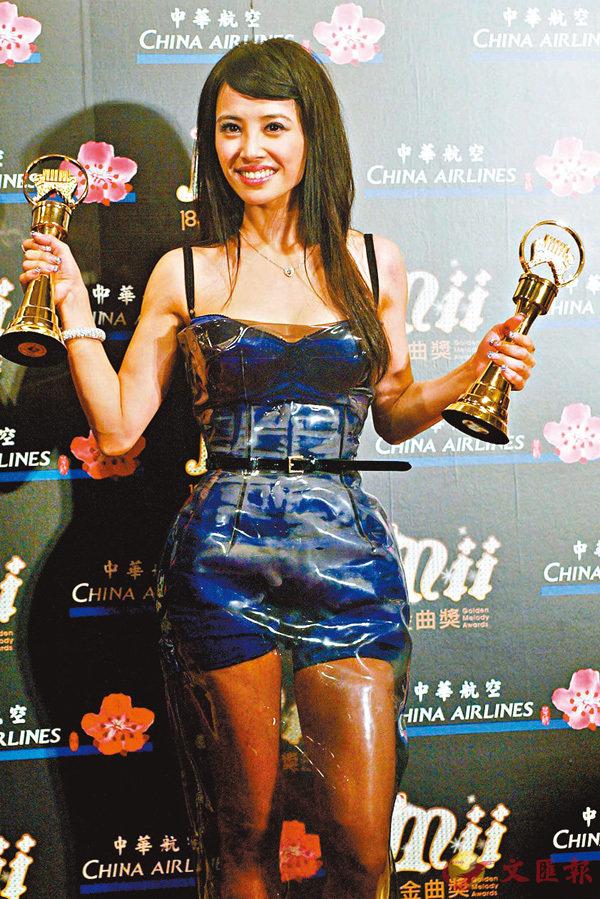 ■蔡依林今年金曲獎有7項提名。