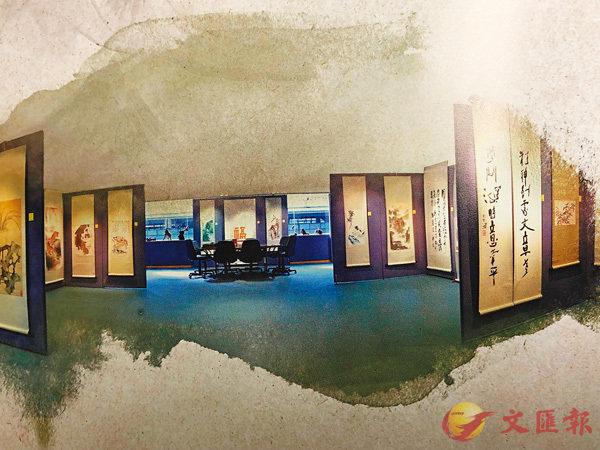 ■集古齋展覽現場。