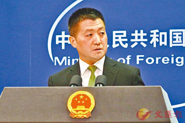 ■中國外交部發言人陸慷。 資料圖片