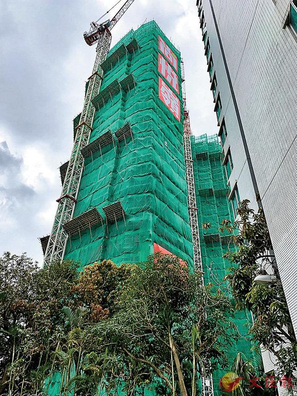 ■尚悅•嶺最新撻訂來自2房單位,買家遭沒收約32萬元訂金。 資料圖片