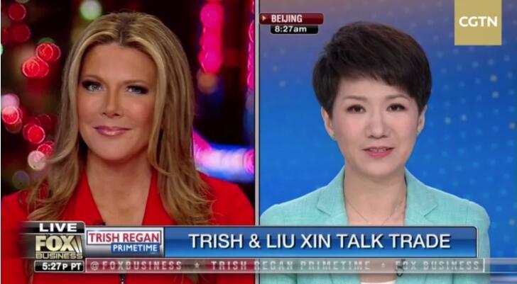 CGTN主播劉欣願以坦誠化解美國對中國的誤解