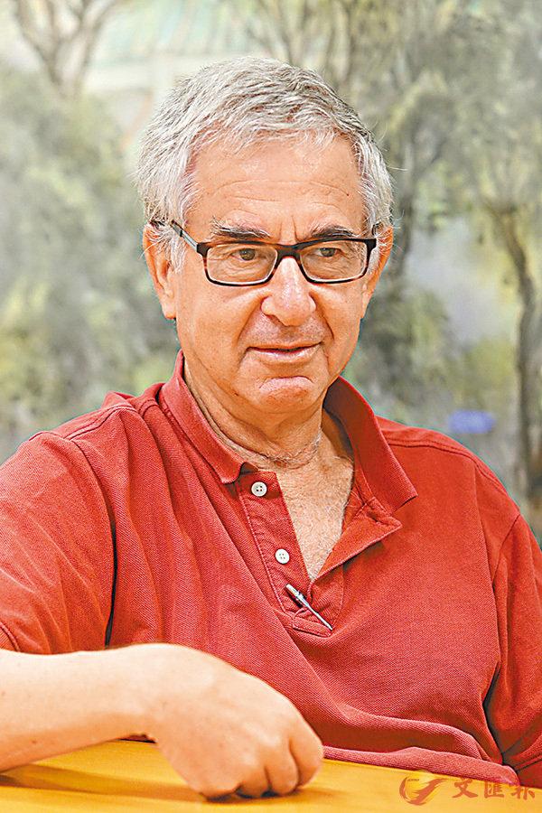 ■古地圖專家Rehav Rubin來港任客座教授。 香港文匯報記者莫雪芝  攝