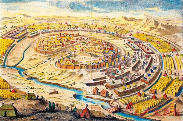 ■耶路撒冷古地圖是Rehav Rubin的珍貴研究對象。 Rehav Rubin網站圖片