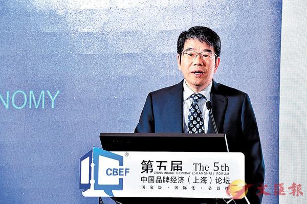 ■蔣青雲指上海需�茪O培育和做大購物的代表品牌。 記者章蘿蘭 攝