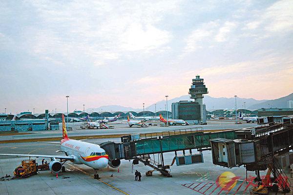 ■麻疹由旅客帶到香港,所以個案中近半為機場職員。 資料圖片