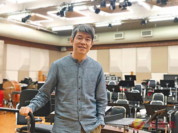 ■香港中樂團指揮周熙杰。胡茜 攝