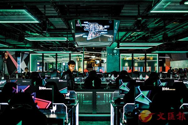 ■香港的電競業仍有待發展。圖為香港綜合電競館。 資料圖片
