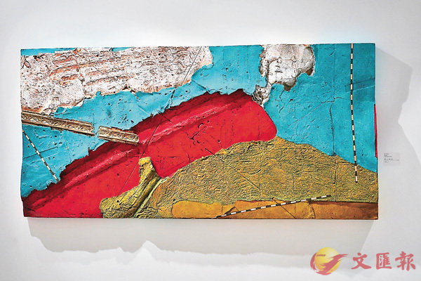 ■美國造紙藝術家Ray Tomasso作品《新界的廟宇》