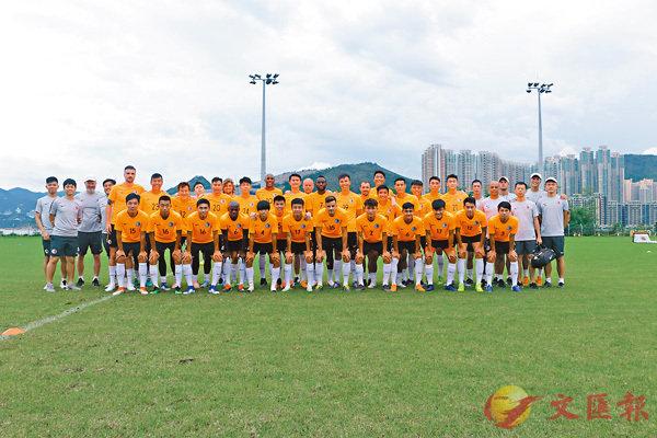 ■香港足球隊今晚在旺角大球場迎戰中國台北。   足總圖片