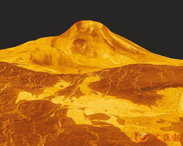 ■金星的環境極度惡劣,可能佈滿岩漿。 網上圖片