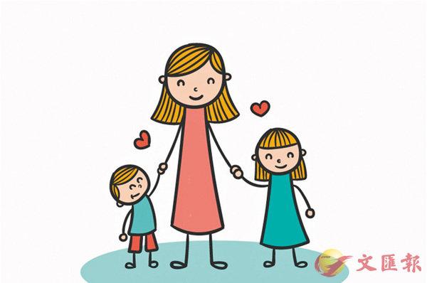 ■天下母親對子女的照顧,都是無微不至。 網上圖片