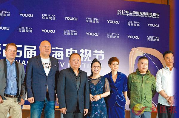 ■上海電視節白玉蘭獎電視劇評委合影。