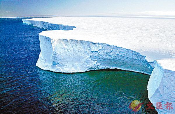 ■我們可以鑽探出深層的冰塊,再從其中的氣泡分析出過去大氣層的氣體含量。 網上圖片