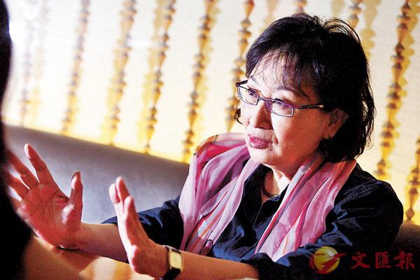 ■何冀平表示,香港電影人北上已是大趨勢。