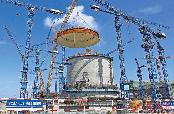 ■「華龍一號」的安全指標和技術性能達到國際三代核電技術的先進水平,成功進軍國際核電市場。 資料圖片