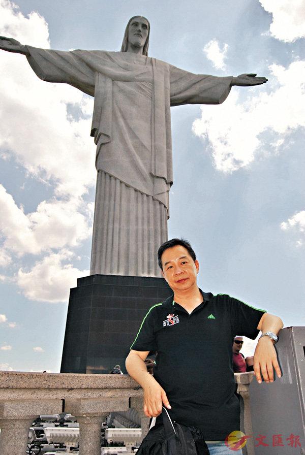 ■巴西里約最著名景點耶穌山。 作者提供