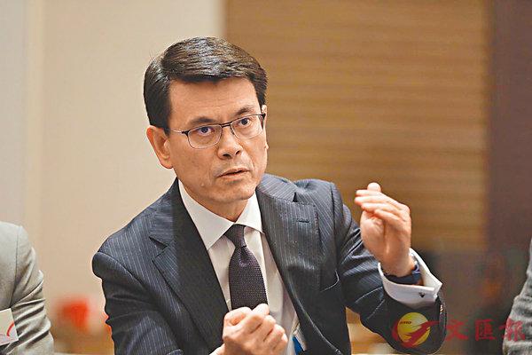 ■邱騰華表示,中美貿易戰已成為世界性話題。