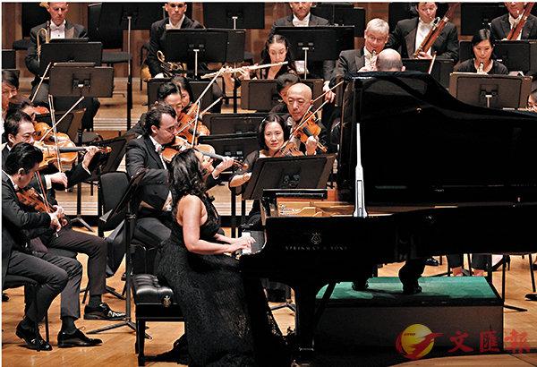 ■《梵志登與賓尼亞堤菲莉》音樂會現場。  攝影:Ka Lam/港樂