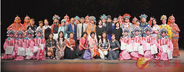 ■浙江紹劇團連續兩晚於香港大會堂劇院演出。